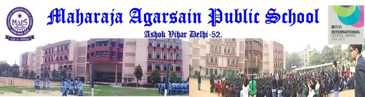 MAHARAJA AGARSAIN PUBLIC SCHOOL