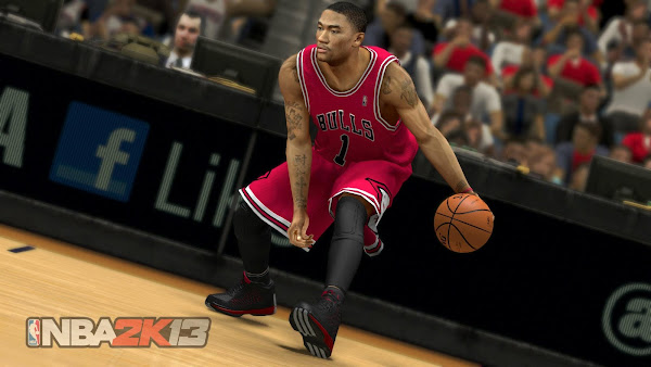 NBA 2k13 First Official Screenshots : Kevin Durant, Derrick Rose & Blake Griffin