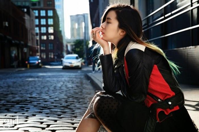 Irene Kim - Vogue Girl Magazine December Issue 2014