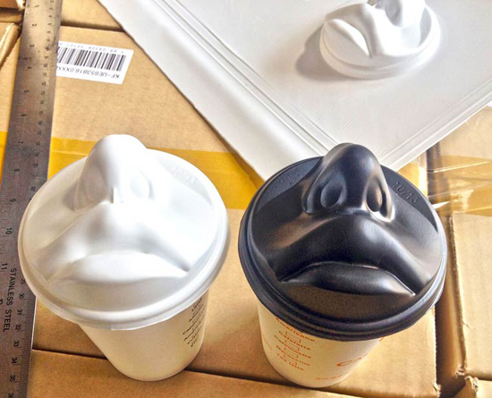Jang Woo-Seok Mouth Coffee Cup