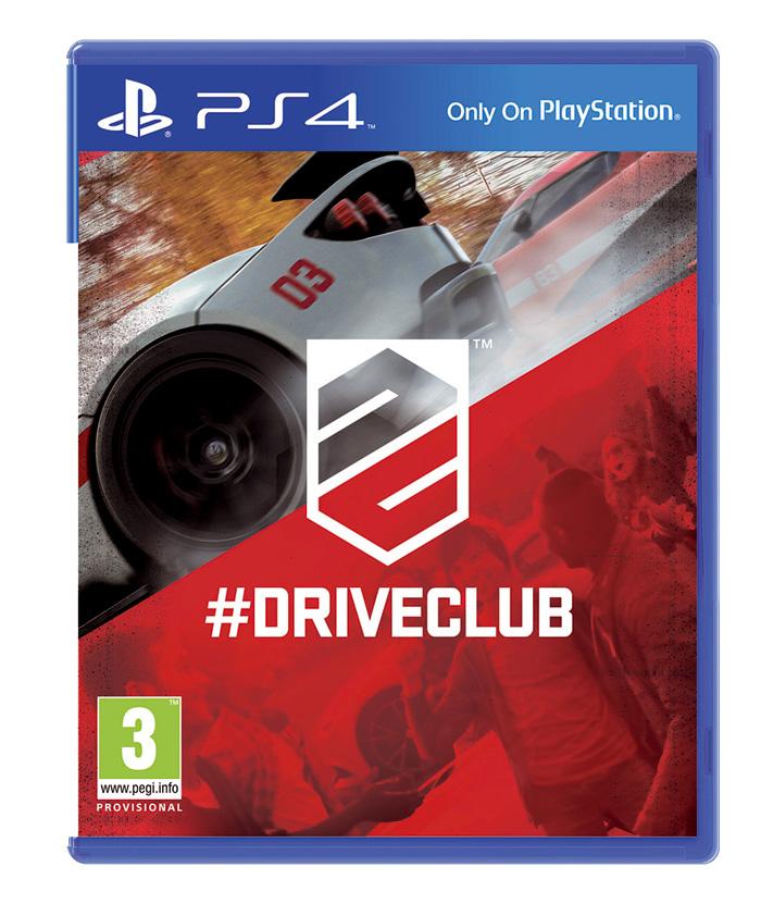 Portada oficial de Drive CLub para PS4