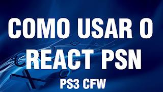 Como ativar conteúdo da PSN com React PSN v2.23