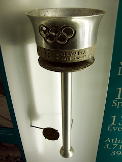 1948 Olympic Torch, Atlanta History Center