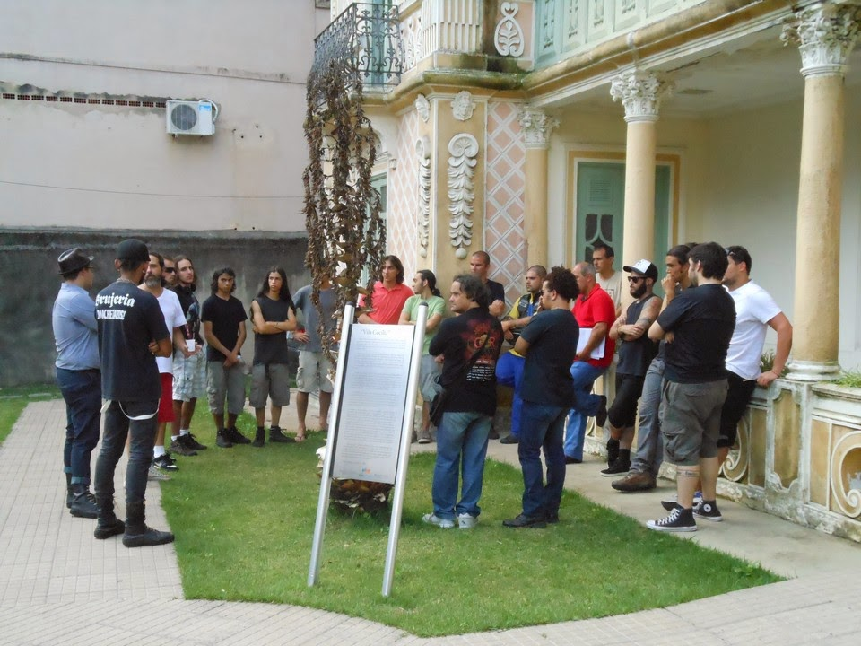 Representantes das bandas de rock de Teresópolis se reuniram nesta sexta com o Secretário Wanderley Peres e o Subsecretário Arnaldo Almeida