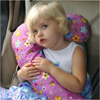 Seat Belt Snoozer Car Pillow
