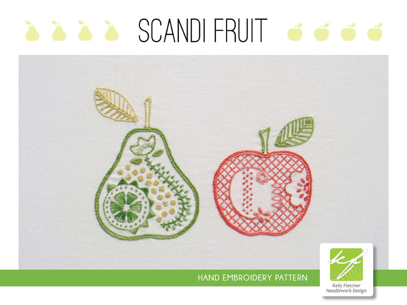 Materialistic Five New Scandinavian Style Hand Embroidery Patterns