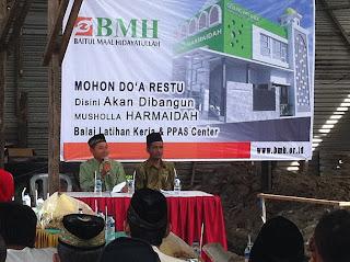 Wakaf Tunai Pembangunan Balai Latihan Kerja dan PPAS Center
