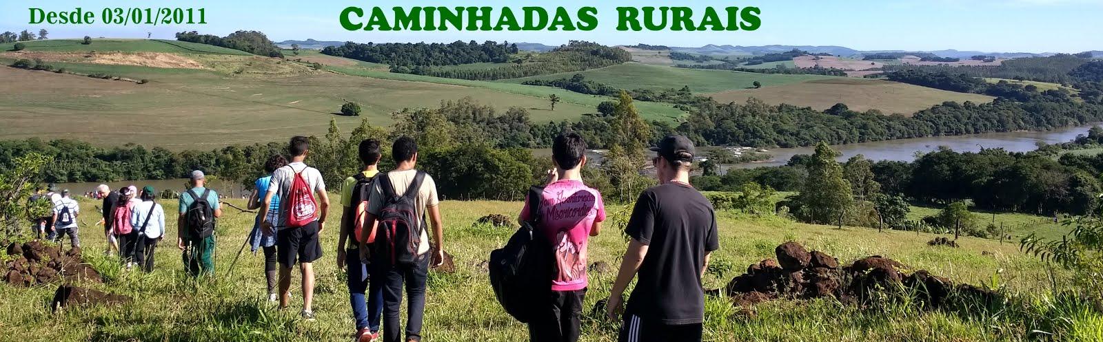 Caminhadas rurais