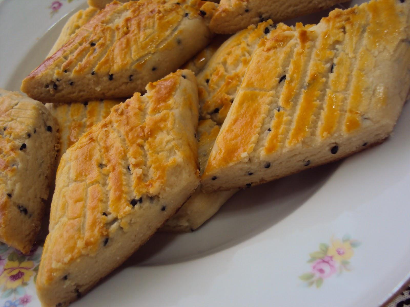Çörek Otlu Mahlepli Kurabiye Tarifi