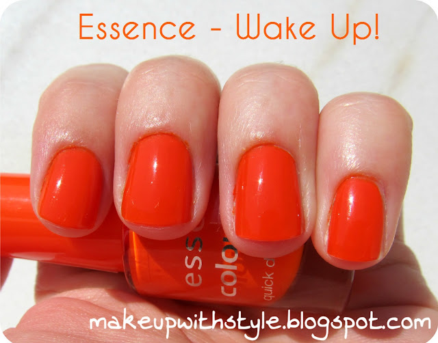 """turuncu oje"", ""essence"""