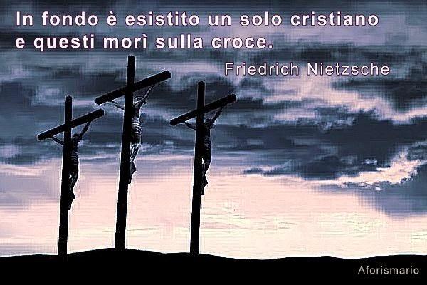 Eccezionale Aforismario®: Croce e Crocifissione - Frasi e citazioni sul Crocifisso PO41