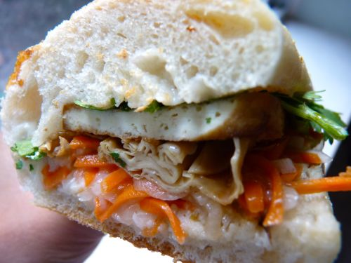 Swoon For Food: Bánh Mì with Lemongrass Ginger Tofu