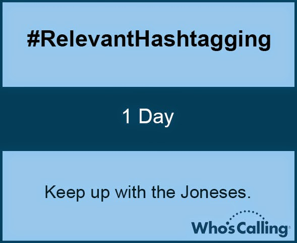 #RelevantHashtagging: 1 Day