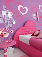 fotos dormitorios juveniles color rosa