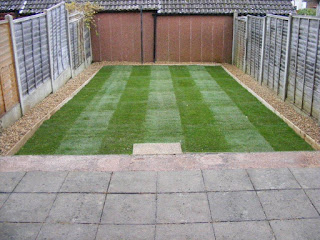 Turfing in Crawley