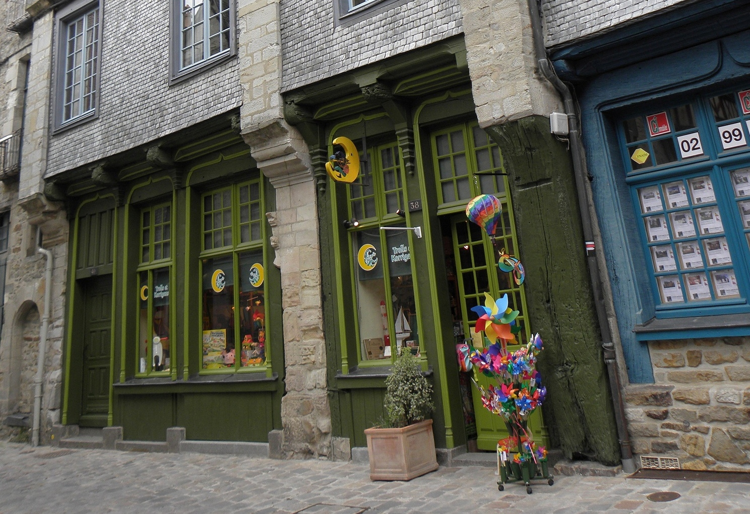 Exposition à VITRE(35)  au 38, rue Notre dame près du vieux Château
