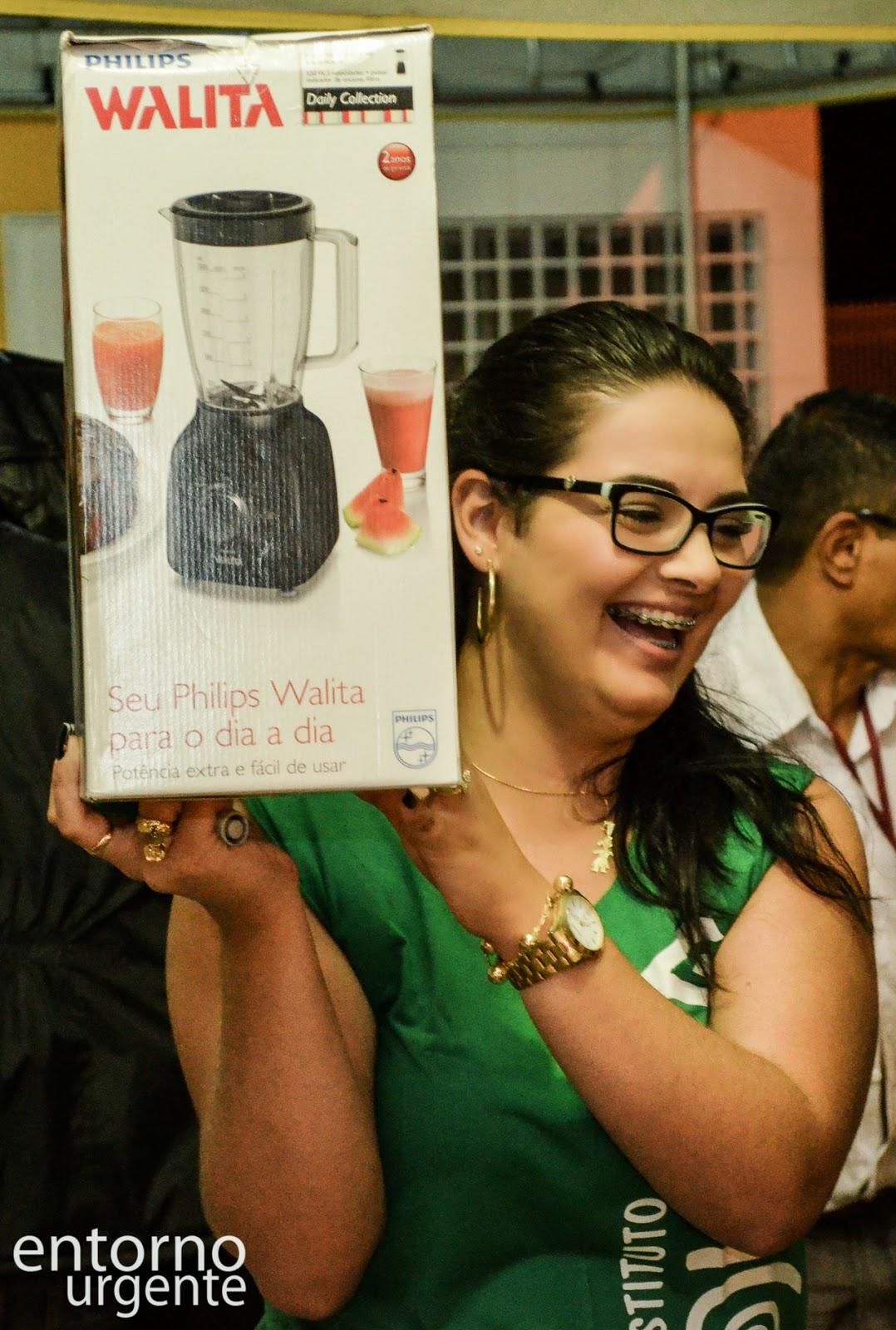 Nathália, voluntária do Instituto Itiquira