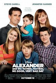 "COMING SOON Disney's ""Alexander and the Terrible, Horrible, No Good, Very Bad Day"""