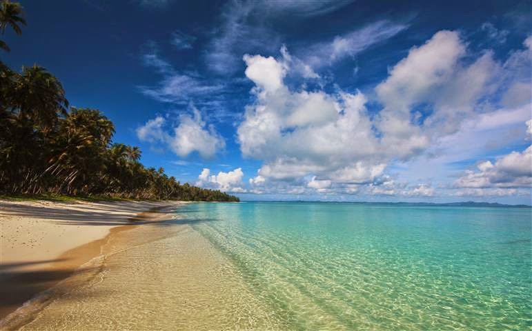 Pantai Pulau Palambak Besar