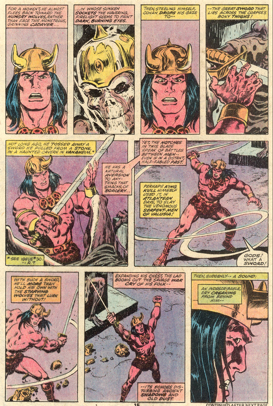 Conan the Barbarian (1970) Issue #92 #104 - English 11