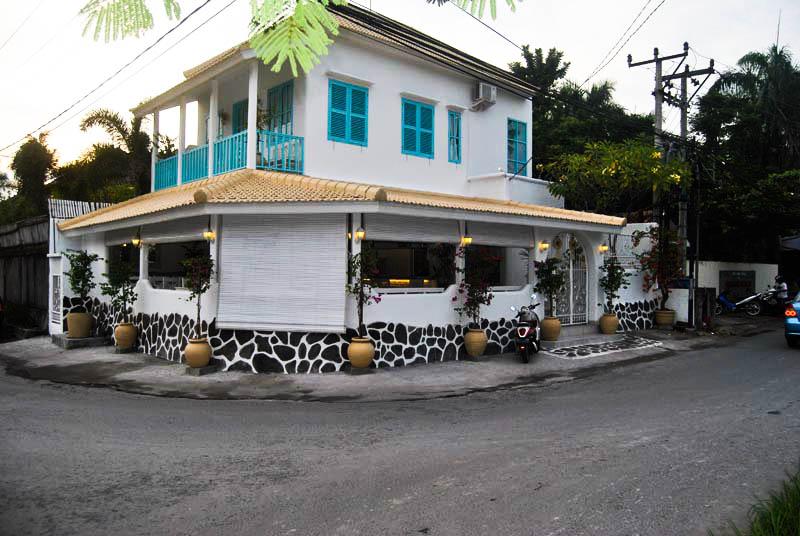 View Sebelah Barat Restoran Lokasi