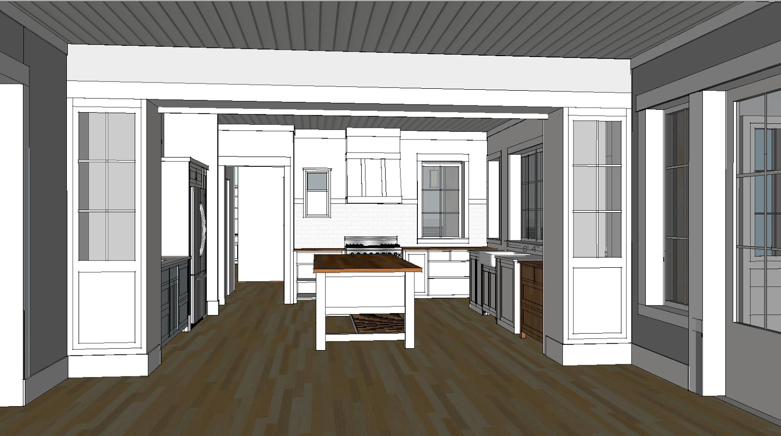 Solstice Cottage: Kitchen Design