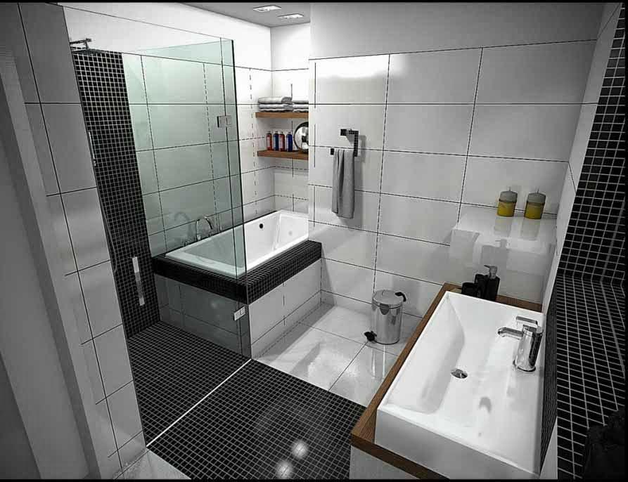 Bentuk-bentuk kamar mandi 4