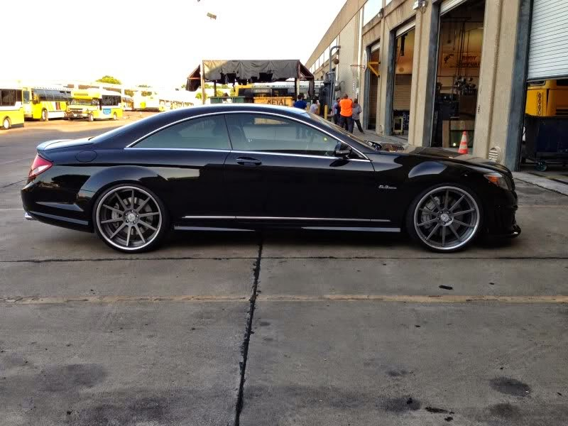 mercedes benz cl63 amg on rennen forged wheels benztuning. Black Bedroom Furniture Sets. Home Design Ideas