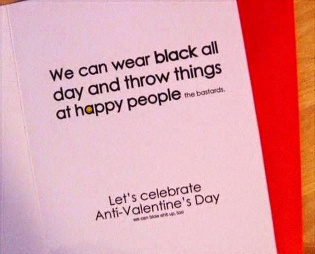 anti valentine quotes