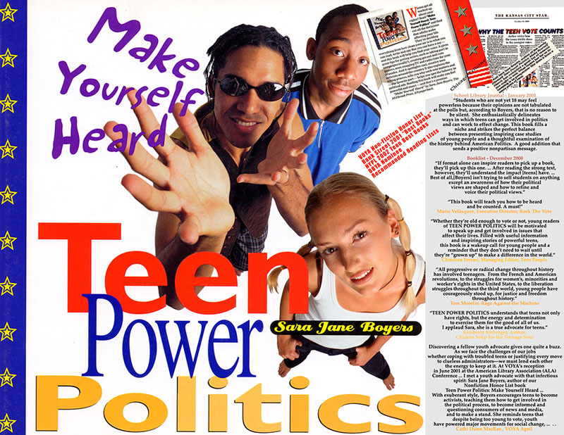 Teen Power Politics: Make Yourself Heard