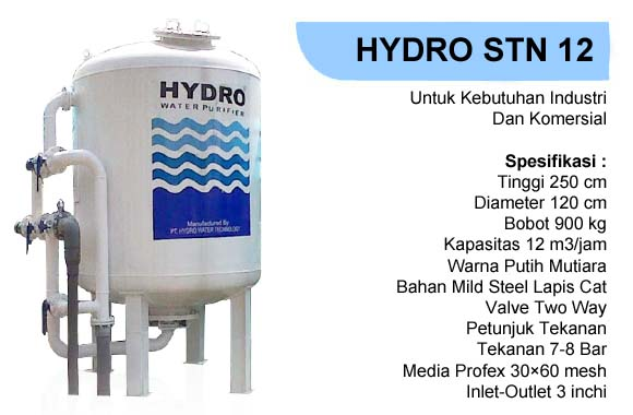 Filter air hydro stn 12