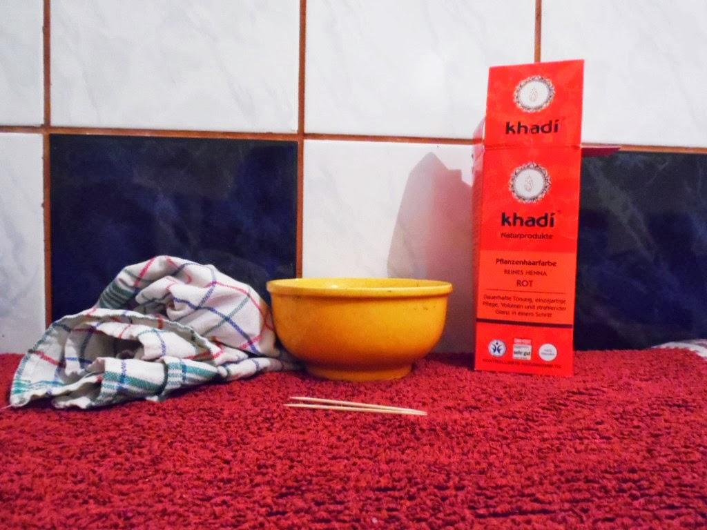 Henna Khadi RED - czyli mój powrót do rudości ;)