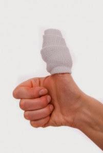 sore thumb
