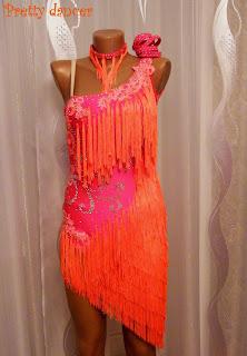 Бахрома для платья латина