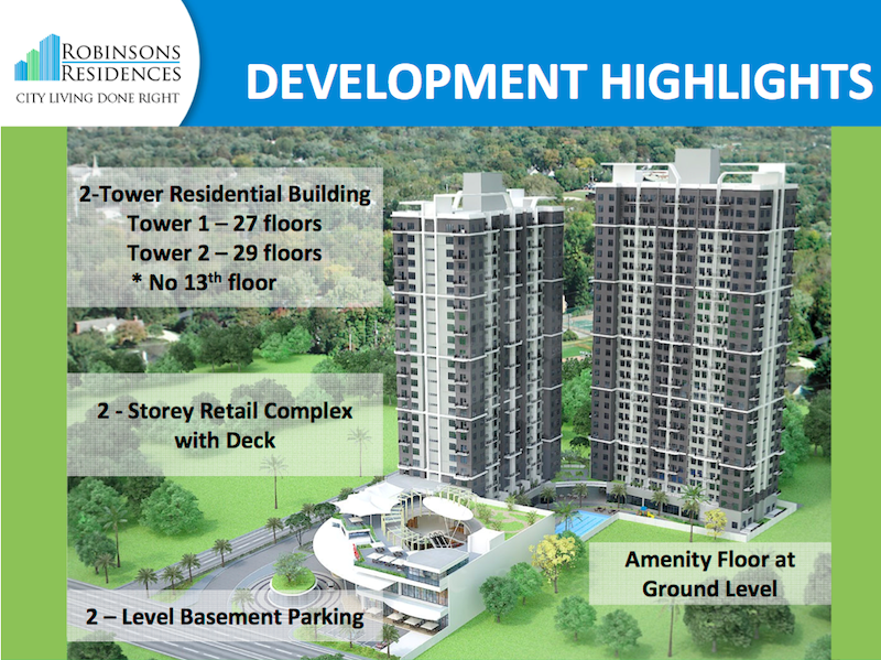 Delta Residences Davao - Development Highlights