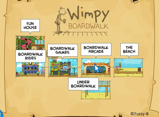Cheats For Wimpy Boardwalk