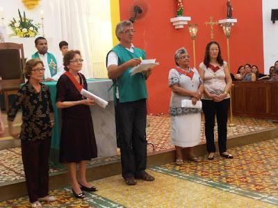 Paroquia de Almino Afonso inicia peregrinações em preparação para festa SCJ 2013