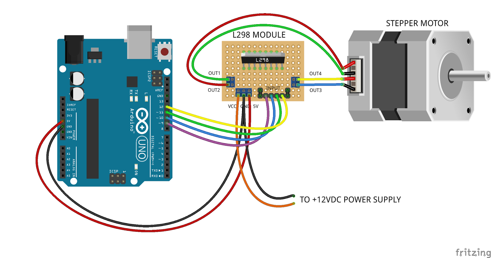 arduino - smooth a motor movement - Electrical