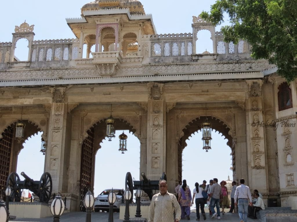 Tripolia gate (City Palace of Udaipur)
