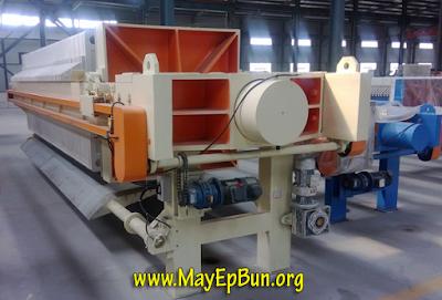 Một máy ép bùn khung bản mới, hàng nhập khẩu chất lượng tốt