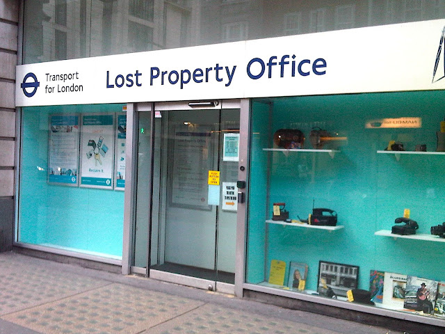 Adventures in London: lost and found