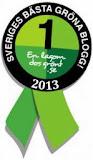 Utsedd till Sveriges Gröna inspiratör 2013
