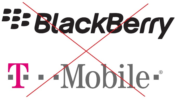 No BlackBerry on US T-Mobile