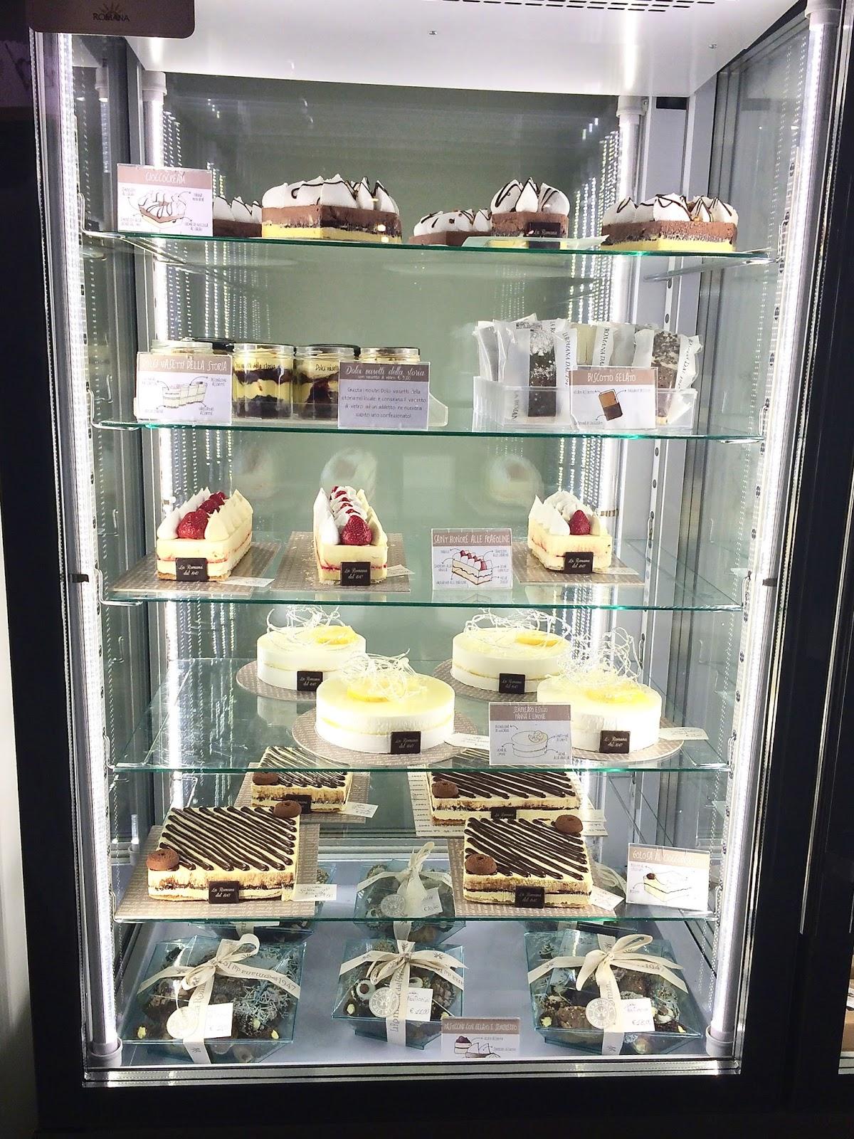 Desserts from Gelateria S.M.Maggiore