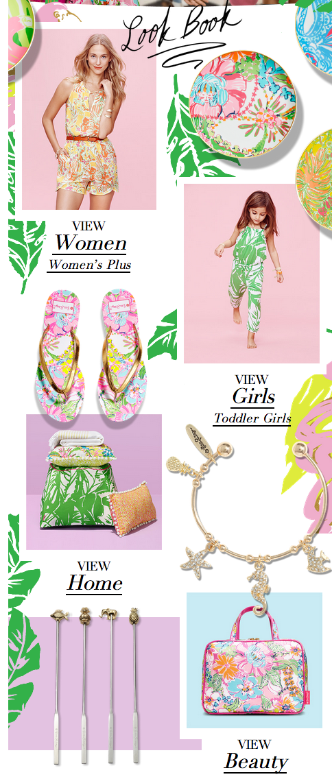 Haute Indoor Couture Friday Favs The Lilly Pulitzer For Target Look Book