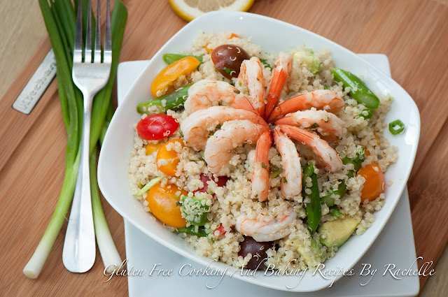 Gluten-free Shrimp Quinoa Medley