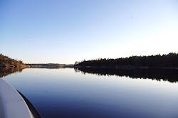 Veneilemässä/ Båtutfärd