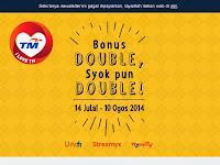 I LOVE TM - Double Raya Bonus
