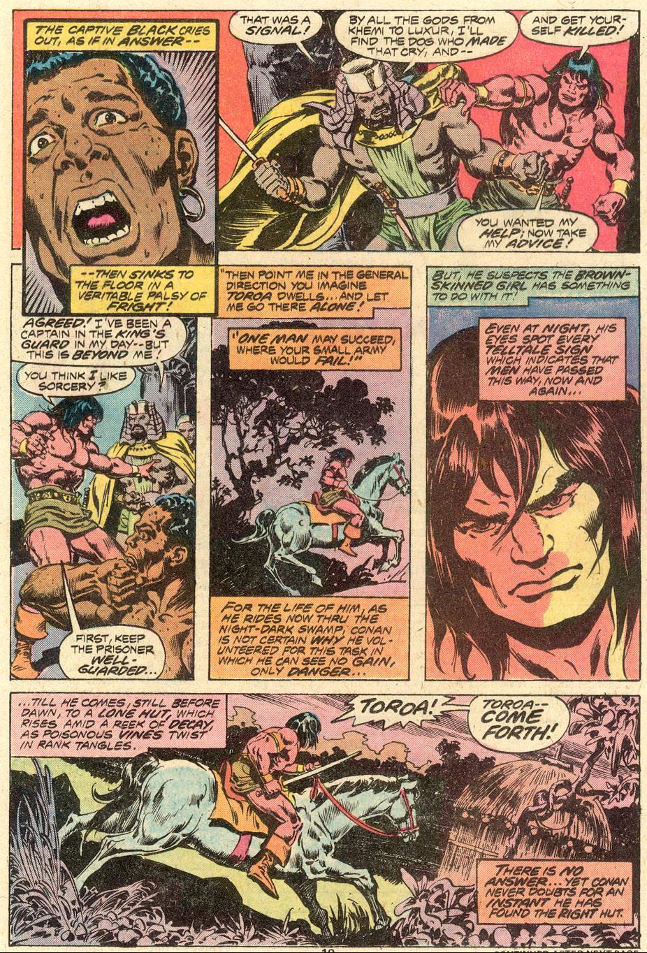 Conan the Barbarian (1970) Issue #82 #94 - English 14