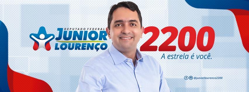 CANDIDATO A DEPUTADO FEDERAL JÚNIOR LOURENÇO.
